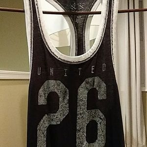 Aeropostale Dresses - United 26 Racerback tank dress